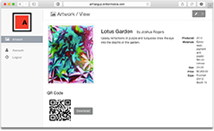 Share a QR code with clients
